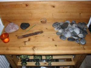 Hot-stones massage